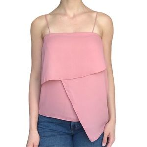 ASOS dusty pink layered thin strap top